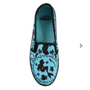 Disney The Little Mermaid Silhouette Slip-On Shoes